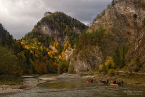 Pieniny in Autumn Light